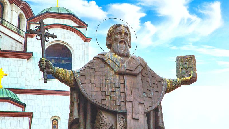 セルビアのベオグラード