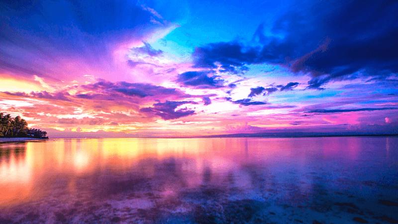 幻想的なシキホールの海