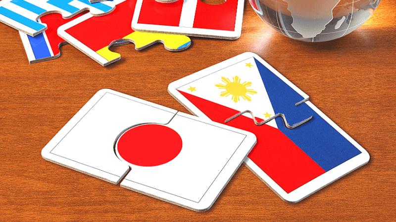 日本とフィリピン